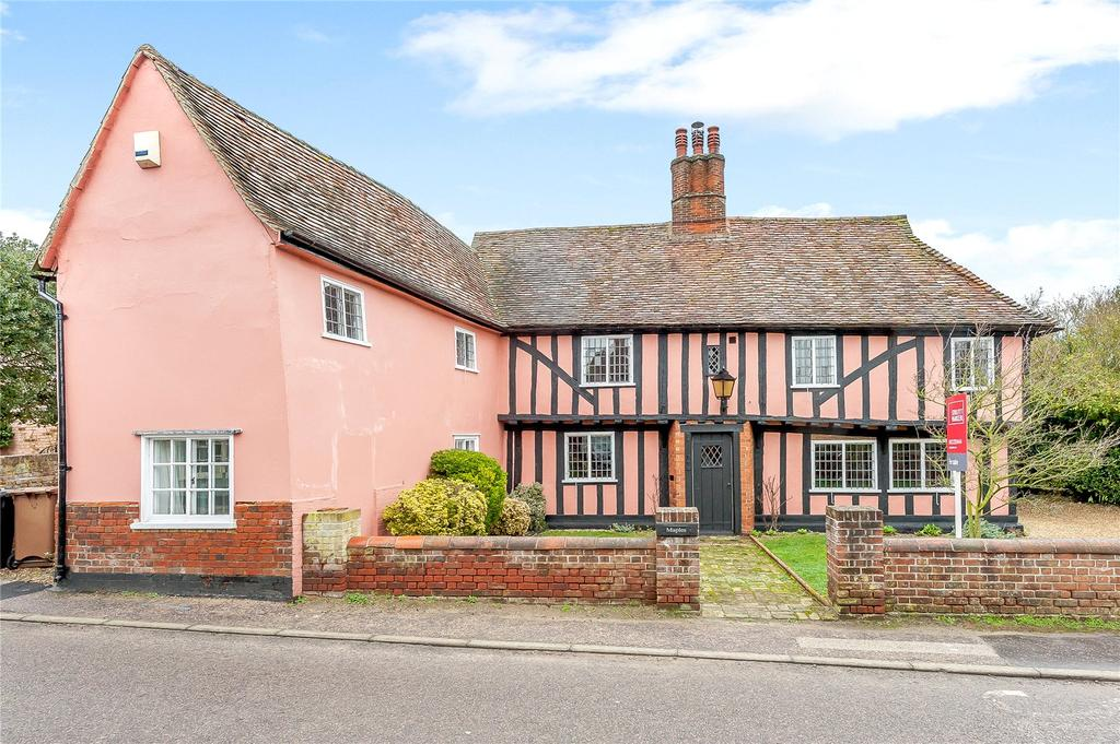 4 Bedrooms Detached House for sale in Polstead Street, Stoke By Nayland, Colchester