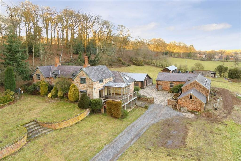 5 Bedrooms Country House Character Property for sale in Tedsmore, West Felton, Oswestry, SY11