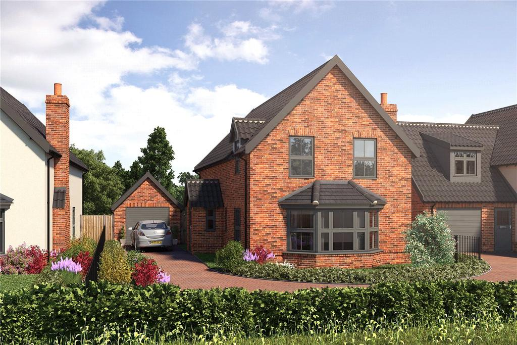 4 Bedrooms Detached House for sale in Plot 2, Burston Road, Dickleburgh, Diss, IP21