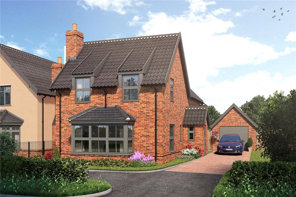 4 Bedrooms Detached House for sale in Plot 4, Burston Road, Dickleburgh, Diss, IP21