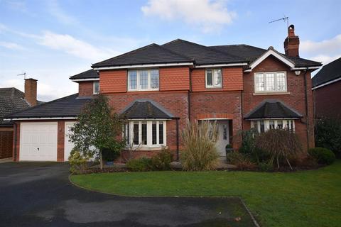 5 bedroom detached house for sale - Manor Road, Dorridge, Solihull, B93 8DX