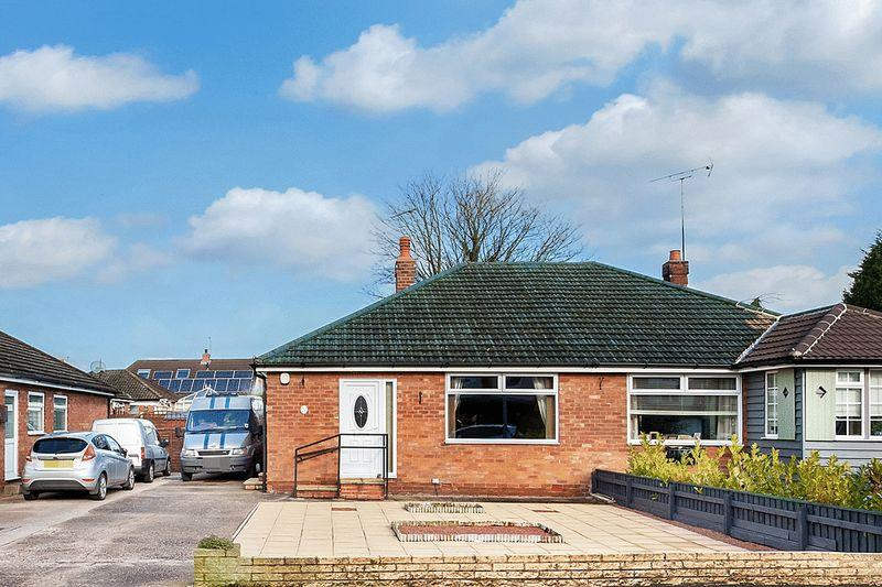 2 Bedrooms Semi Detached Bungalow for sale in Leamington Road, Congleton