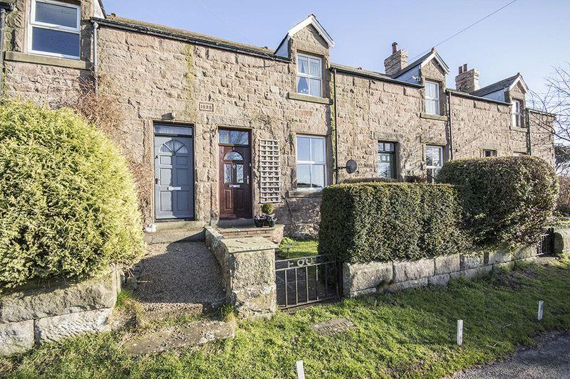 2 Bedrooms Terraced House for sale in Tynely New Houses, Chathill