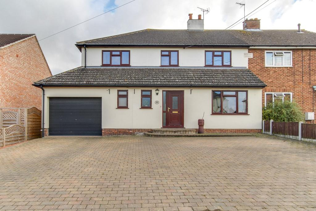 4 Bedrooms Semi Detached House for sale in School Road, Copford, Colchester, CO6
