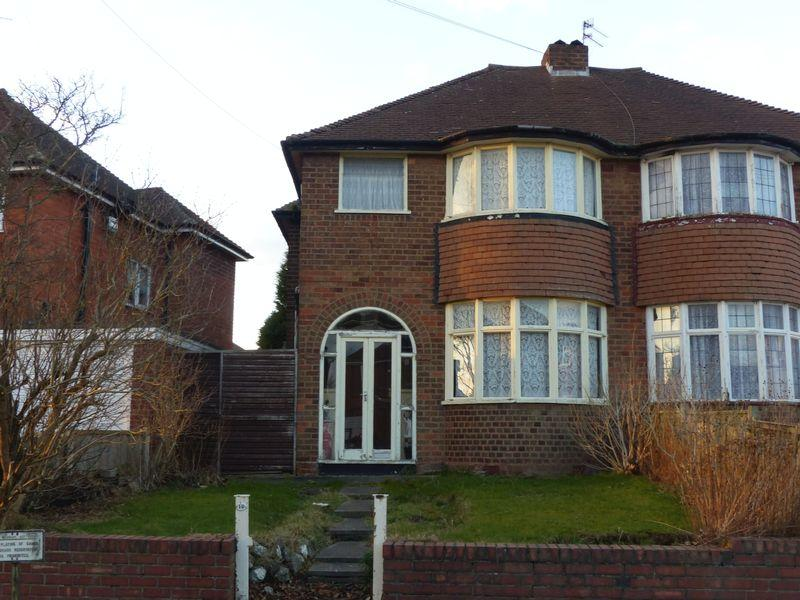 3 Bedrooms Semi Detached House for sale in Hollydale Road, Birmingham