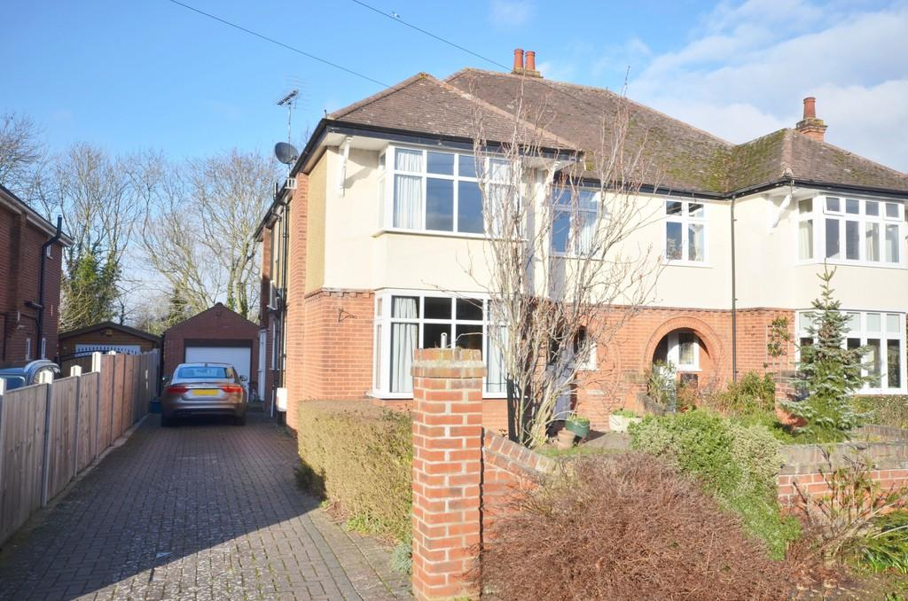 4 Bedrooms Semi Detached House for sale in Hubert Road, Colchester, CO3 3SA