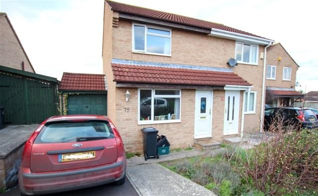 2 Bedrooms Semi Detached House for sale in Meadway, Woolavington, Bridgwater