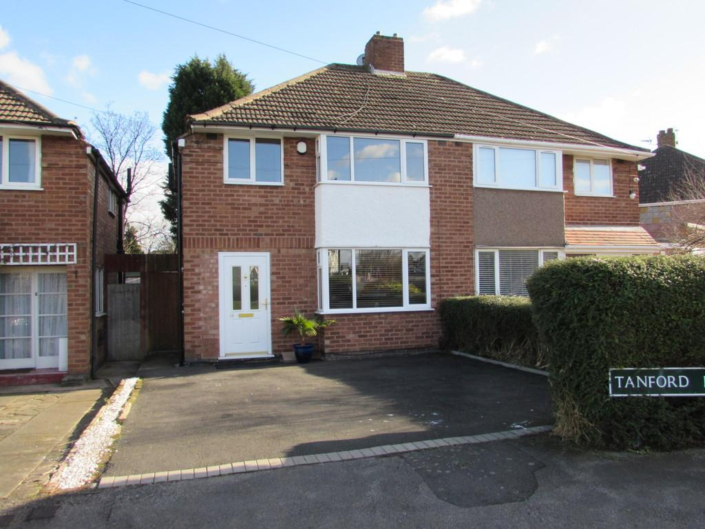 3 Bedrooms Semi Detached House for sale in Tanford Road, Solihull
