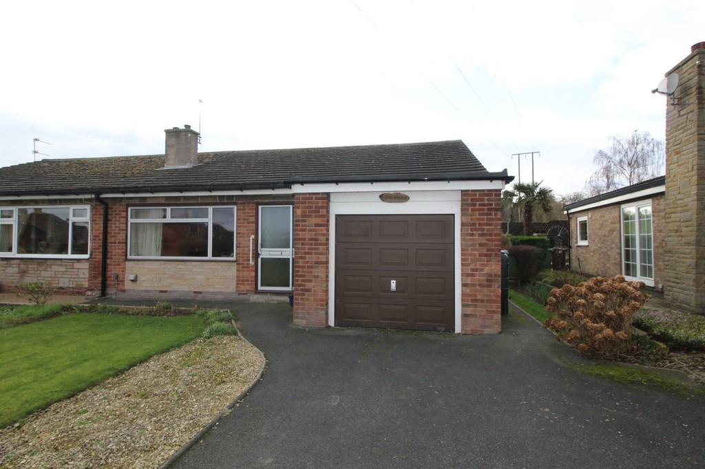 2 Bedrooms Semi Detached Bungalow for sale in New Road, Old Snydale