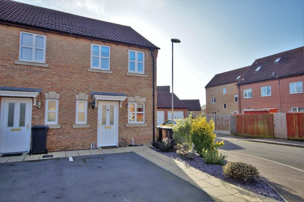 2 Bedrooms End Of Terrace House for sale in Nero Way, North Hykeham