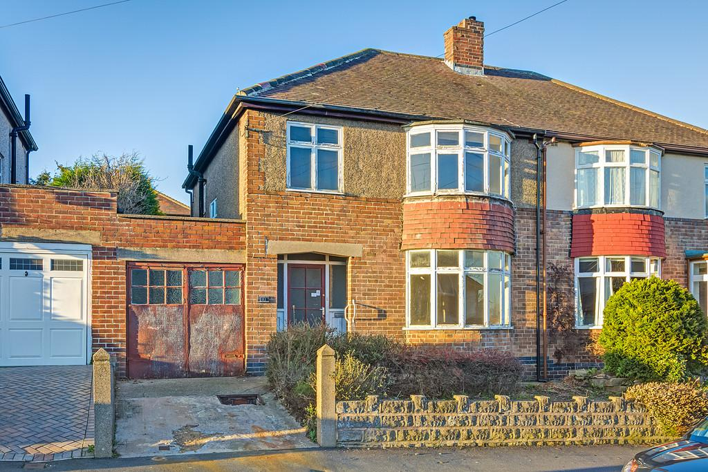 3 Bedrooms Semi Detached House for sale in Barholm Road, Crosspool, Sheffield