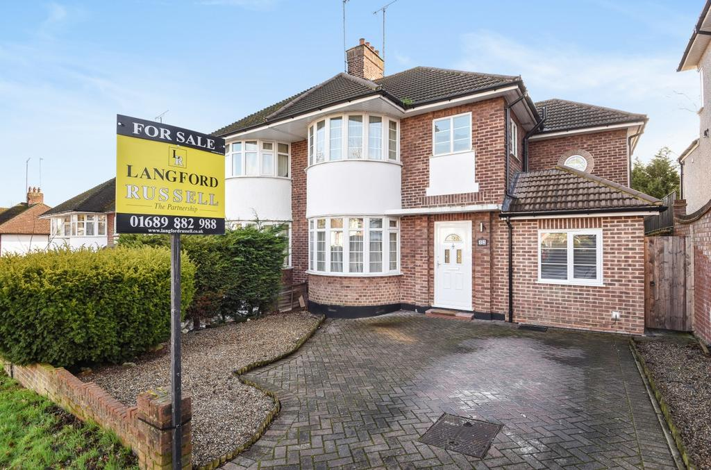 4 Bedrooms Semi Detached House for sale in Oakleigh Gardens Orpington BR6