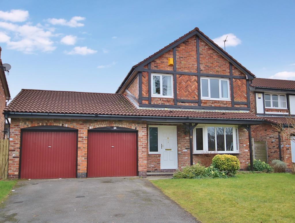 4 Bedrooms Detached House for sale in Greenwood Drive, Wilmslow