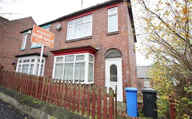 2 Bedrooms Semi Detached House for sale in Hampton Road, Firth Park, Sheffield, S5 7AN