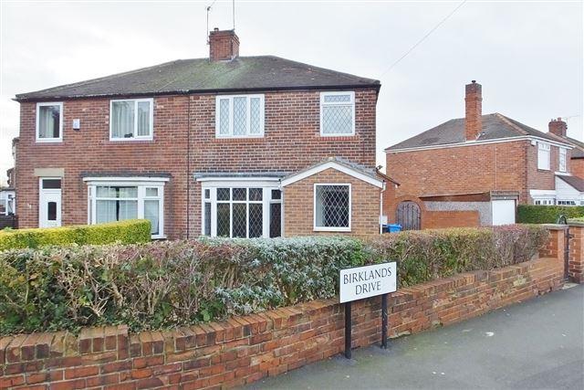 3 Bedrooms Semi Detached House for sale in Birklands Drive, Handsworth, Sheffield, S13 8JL