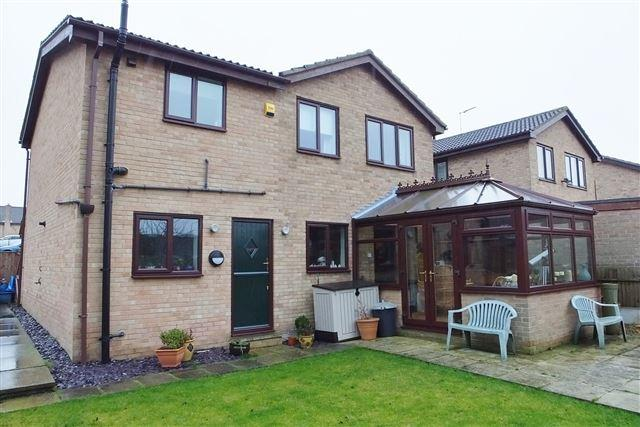 4 Bedrooms Detached House for sale in Tiercel Mews, Dinnington , Sheffield, S25 2ND