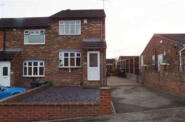 2 Bedrooms Semi Detached House for sale in Orchard Way , Brinsworth, S60 5LZ