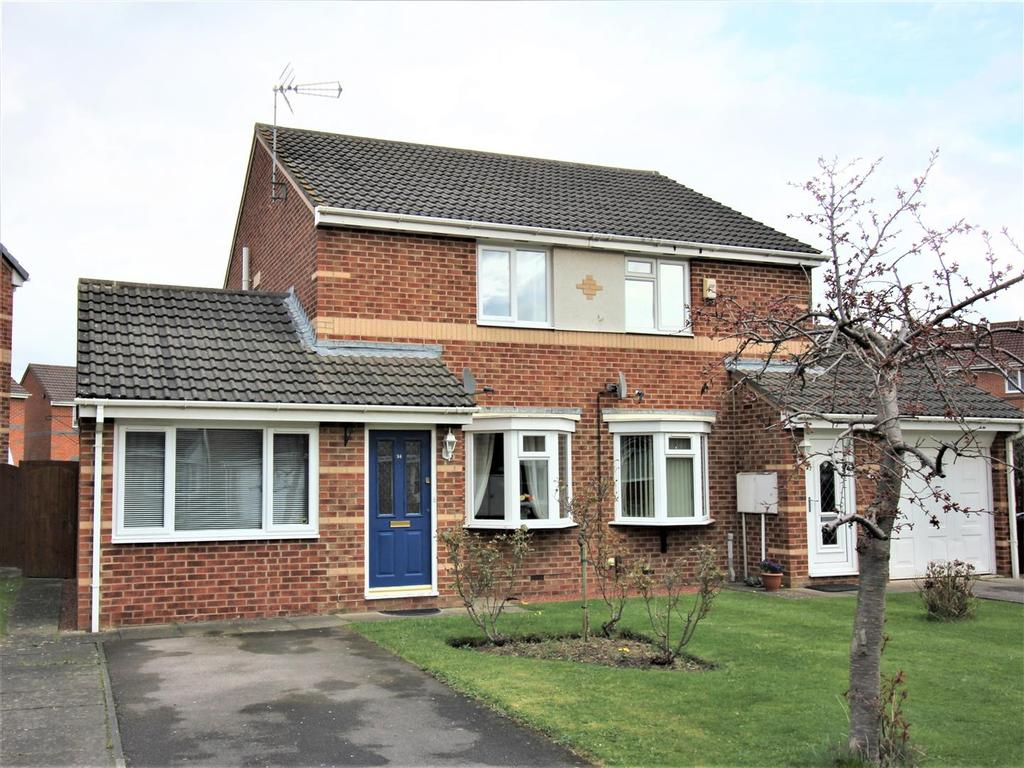 3 Bedrooms Semi Detached House for sale in Abbotsfield Way, Faverdale, Darlington