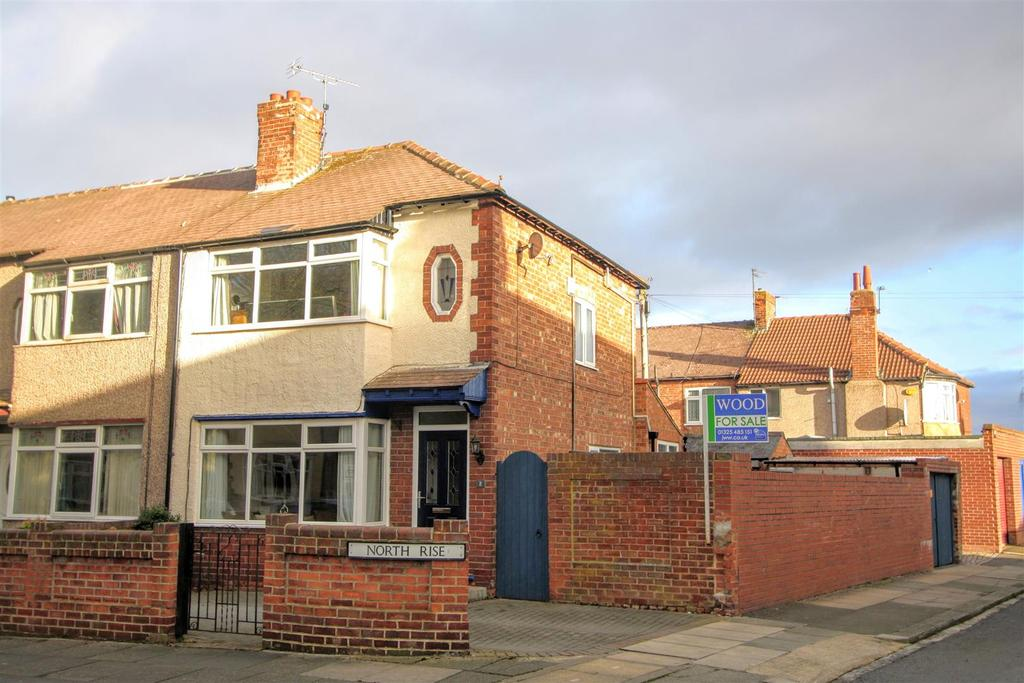 2 Bedrooms End Of Terrace House for sale in North Rise, Darlington
