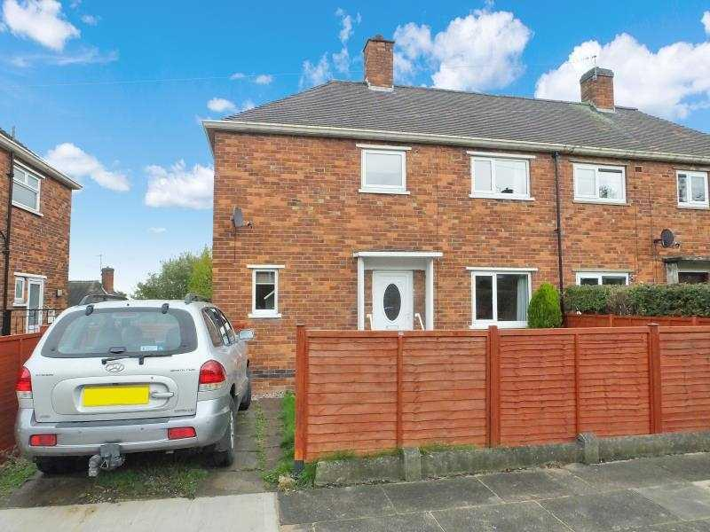 2 Bedrooms Semi Detached House for sale in Lister Drive, Base Green, Sheffield, S12 3FW