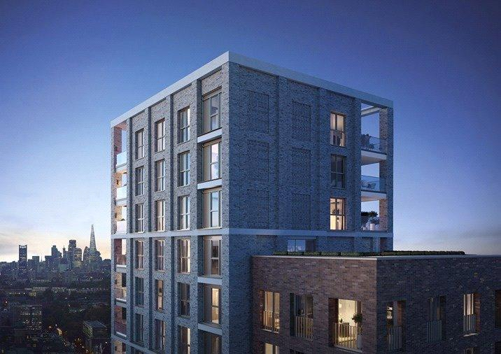1 Bedroom Flat for sale in Brook House, Brixton Hill, London, SW2