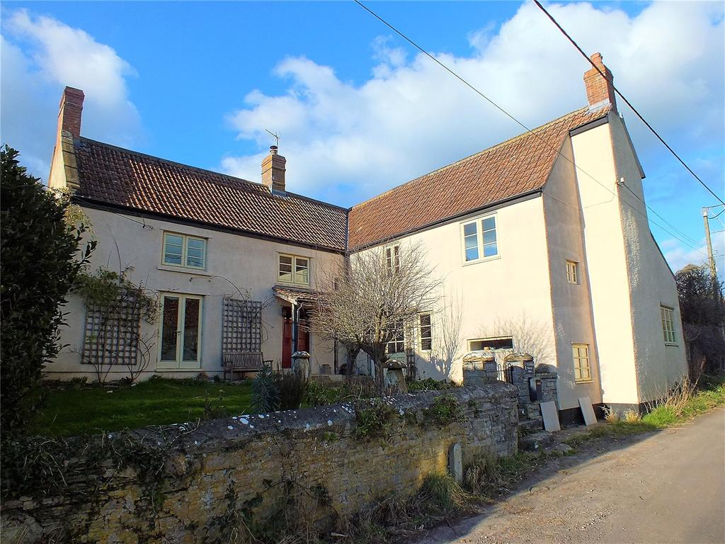 4 Bedrooms Detached House for sale in Chapel Allerton, Axbridge, Somerset, BS26