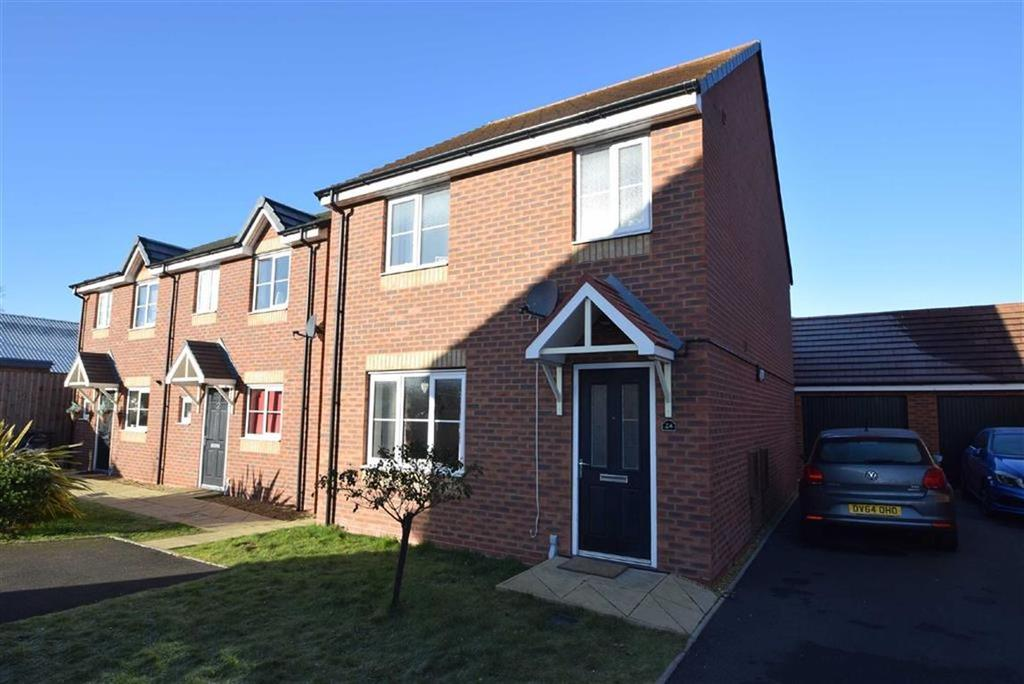 3 Bedrooms Detached House for sale in Woodvine Road, Autumn Brook, Shrewsbury