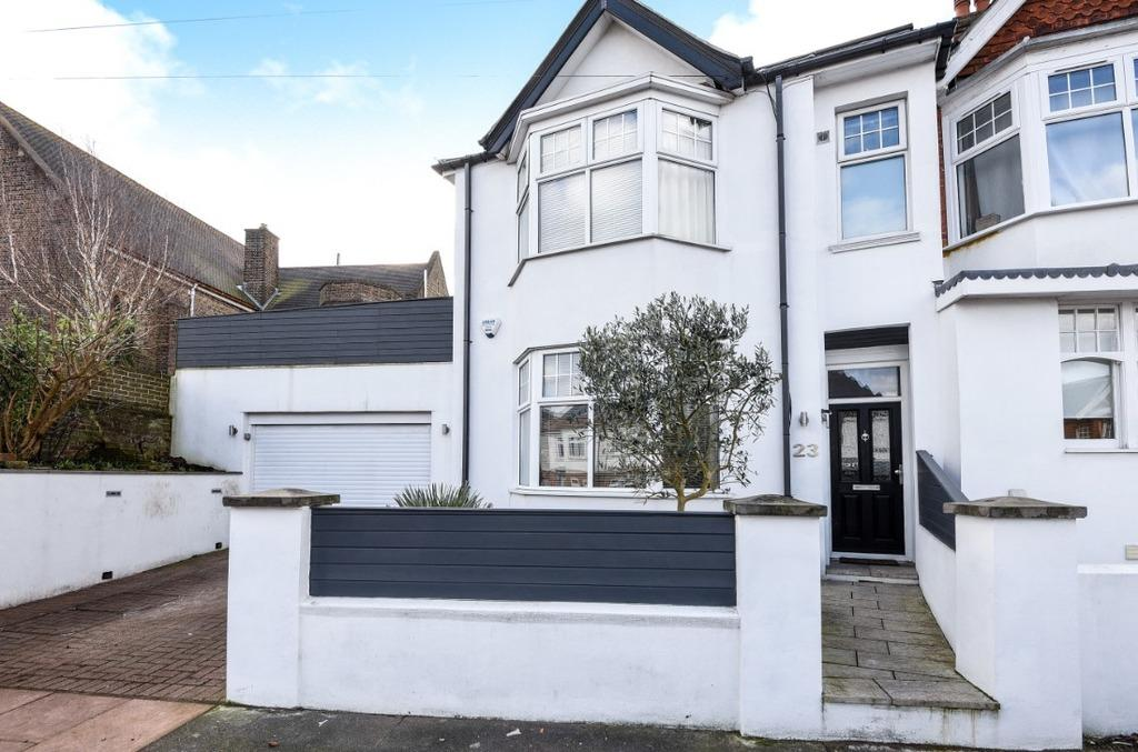 3 Bedrooms Semi Detached House for sale in The Drove Brighton East Sussex BN1