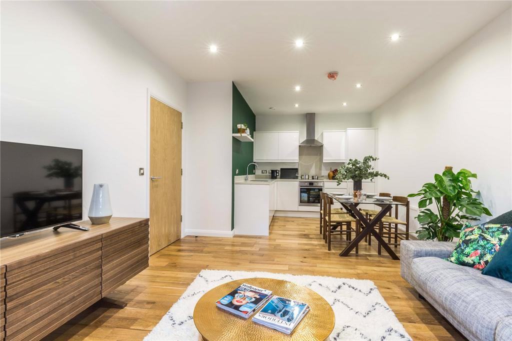2 Bedrooms Penthouse Flat for sale in Pitfield Street, N1