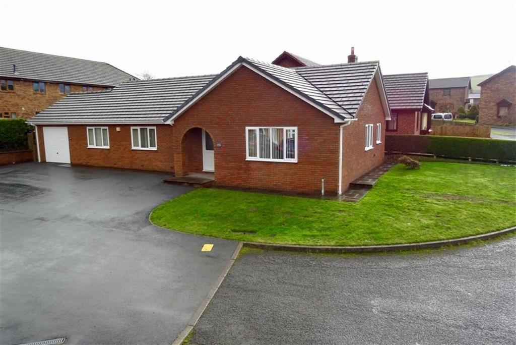 3 Bedrooms Detached Bungalow for sale in Maes Cottage Estate, St Harmon Road, Rhayader, Powys, LD6