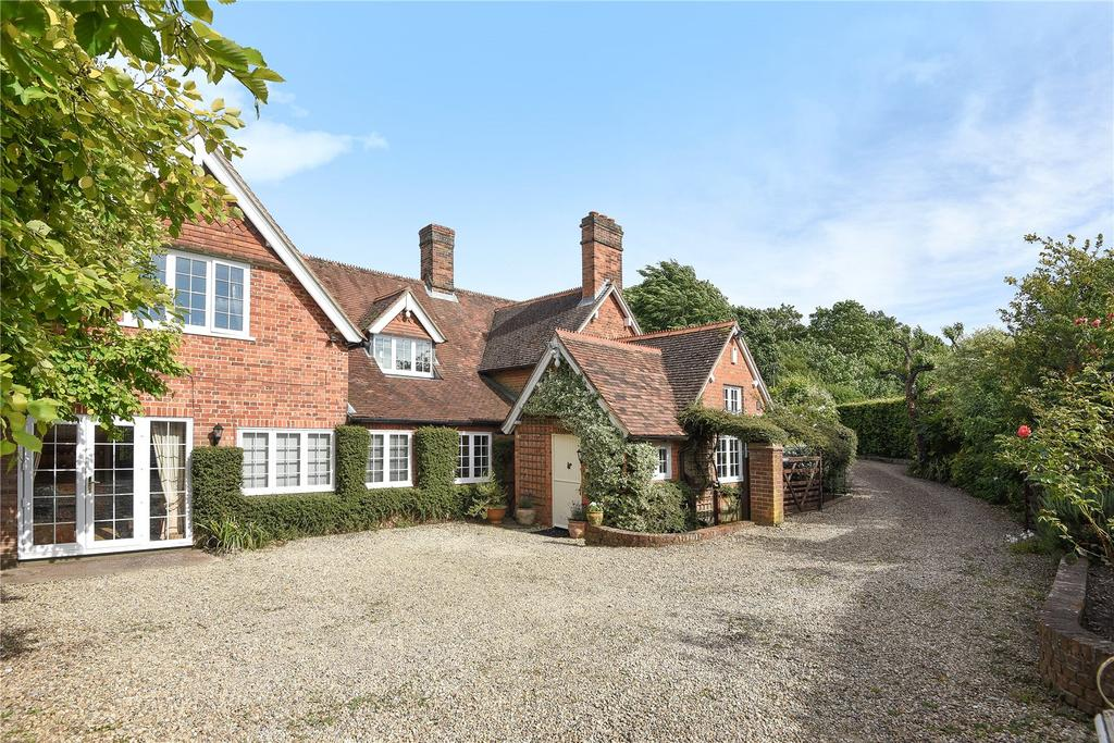 5 Bedrooms Detached House for sale in Beedon Hill, Beedon, Newbury, Berkshire