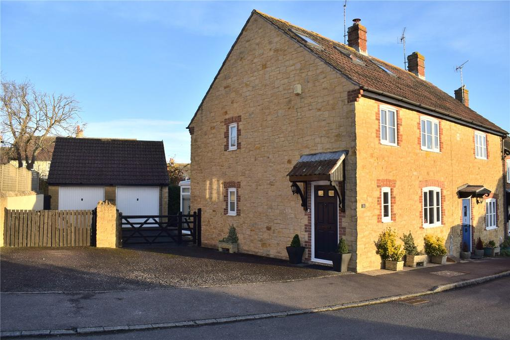 3 Bedrooms End Of Terrace House for sale in Howarth Close, Burton Bradstock, Bridport, Dorset
