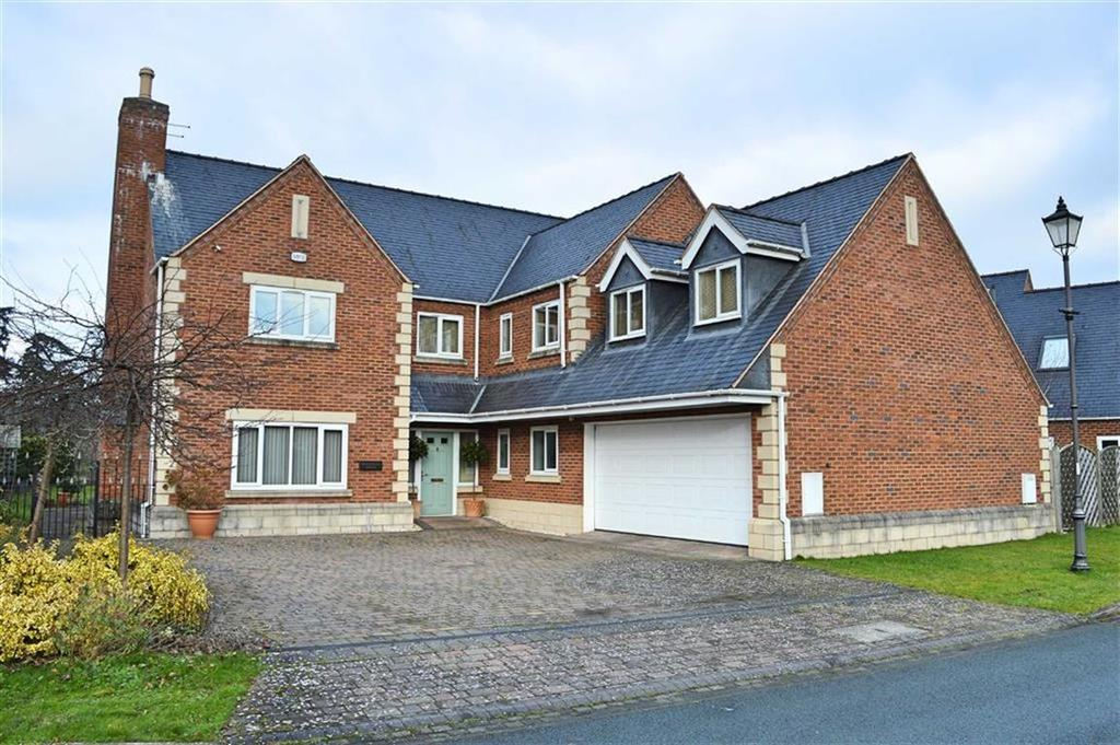5 Bedrooms Detached House for sale in Montague House, Refail Park, Berriew, Welshpool, Powys, SY21