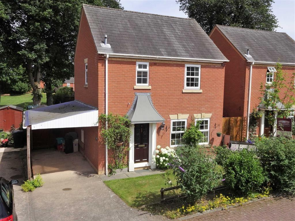 3 Bedrooms Detached House for sale in 8, Rowan Court, Kerry, Newtown, Powys, SY16