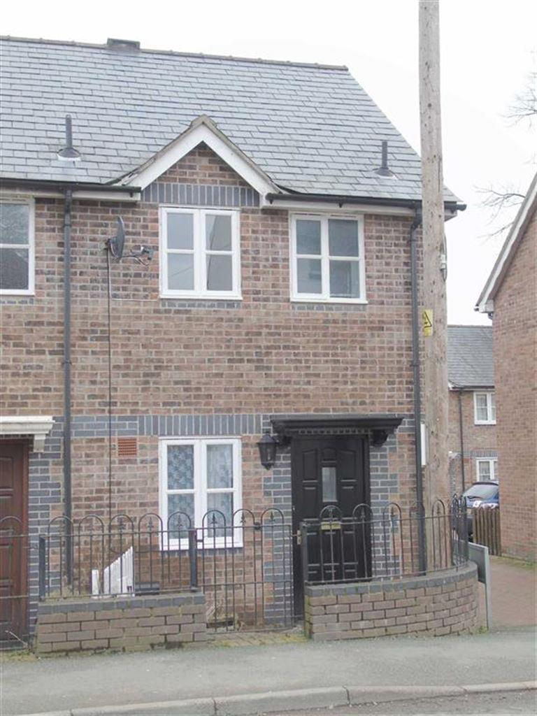 2 Bedrooms End Of Terrace House for sale in 7, Green Square, High Street, Llanfyllin, Powys, SY22