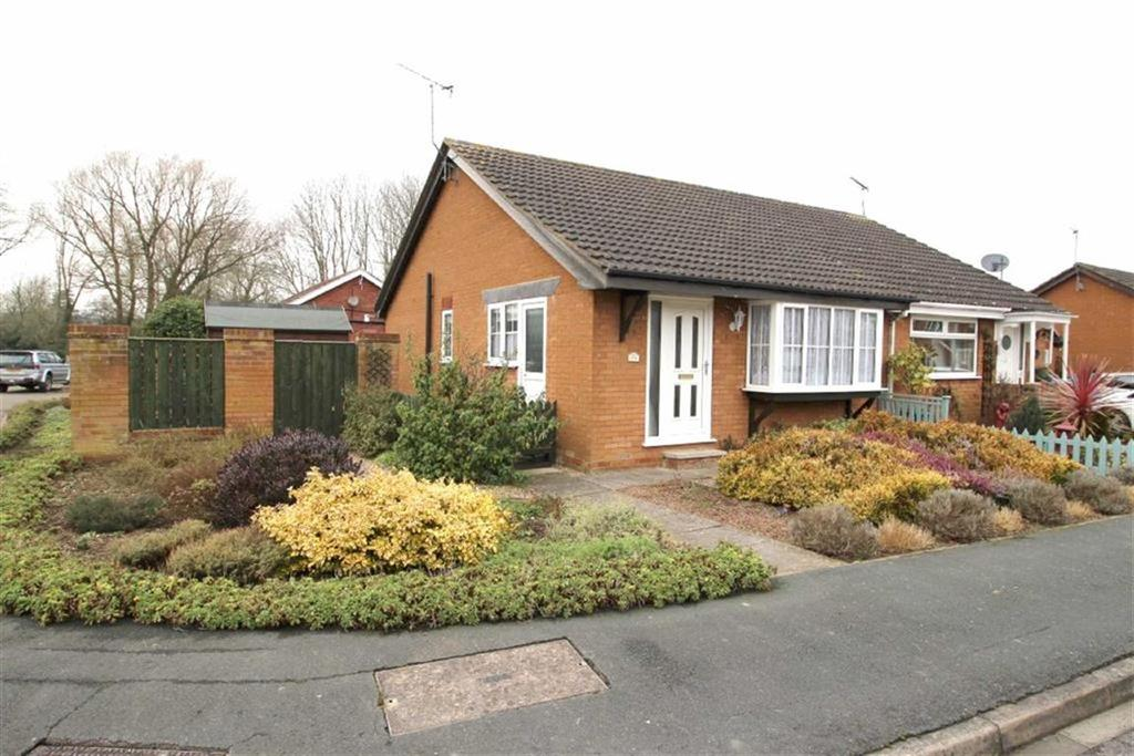 2 Bedrooms Semi Detached Bungalow for sale in Beech View, Cranswick, East Yorkshire