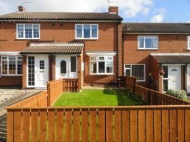 2 Bedrooms Terraced House for sale in BELGRAVE COURT, COXHOE, SEDGEFIELD DISTRICT