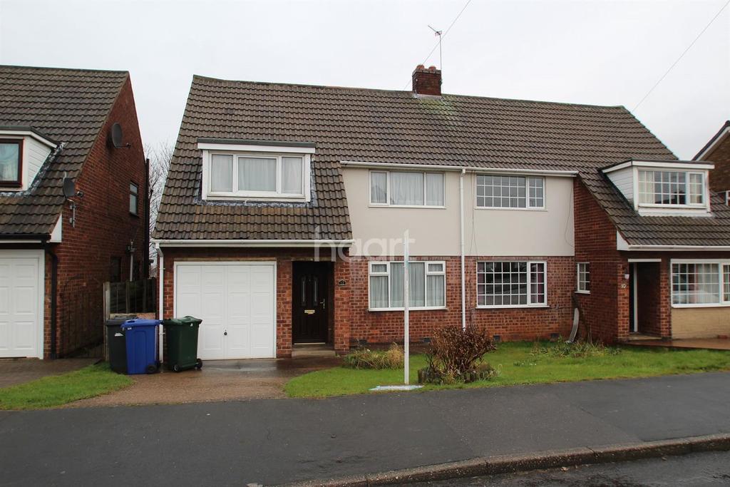 3 Bedrooms Semi Detached House for sale in Cheriton Avenue, Adwick-le-Street, Doncaster