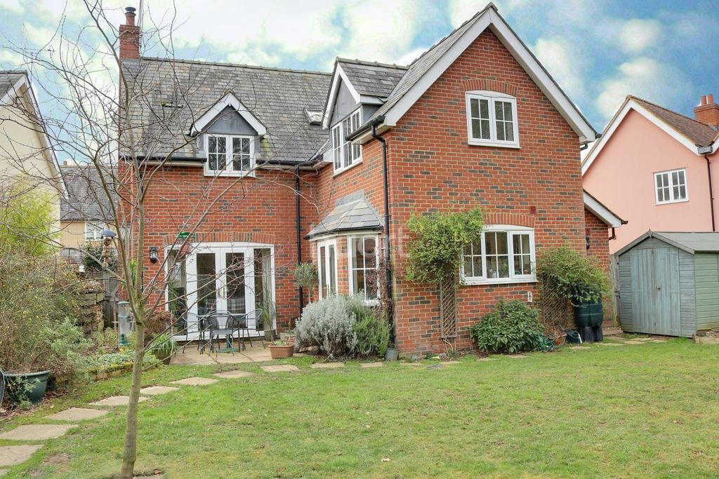 4 Bedrooms Detached House for sale in Hornings Park, Horringer