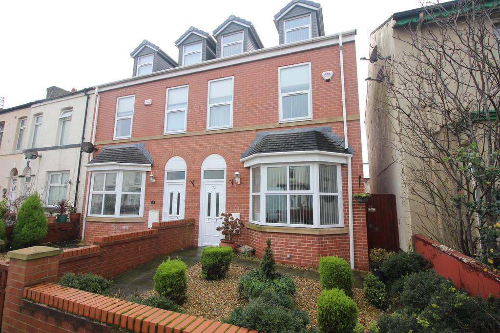 3 Bedrooms End Of Terrace House for sale in High Street, Blackpool