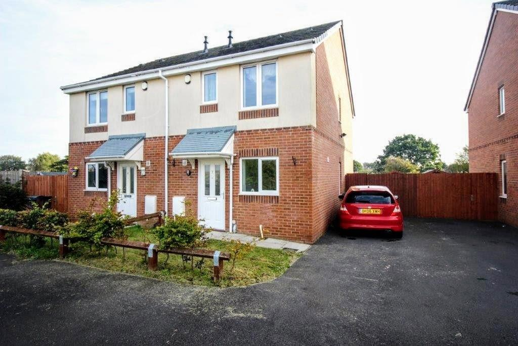 2 Bedrooms Semi Detached House for sale in Meadow Close, Poulton-le-fylde