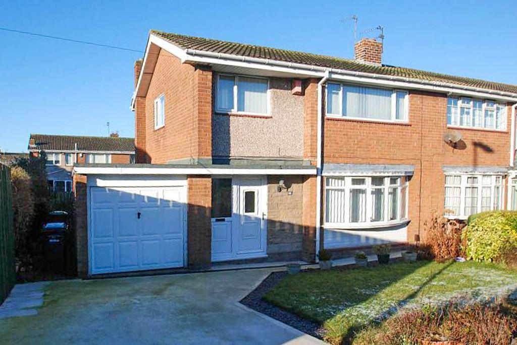 3 Bedrooms Semi Detached House for sale in Meldon Avenue, South Shields