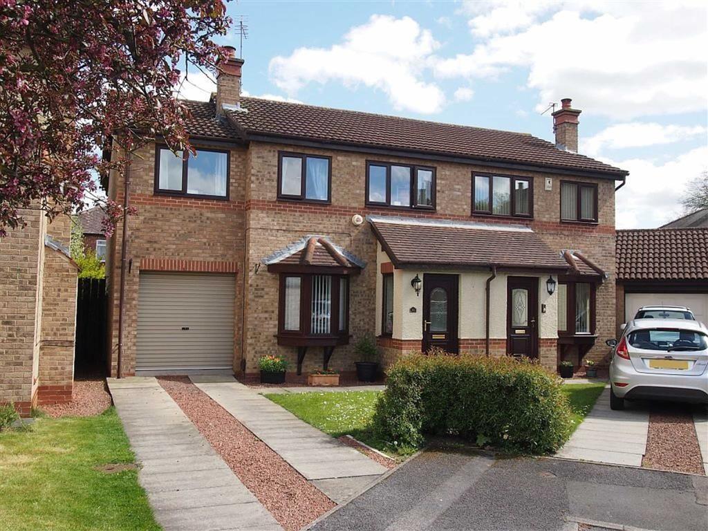 4 Bedrooms Semi Detached House for sale in Westerhope Court, Darlington