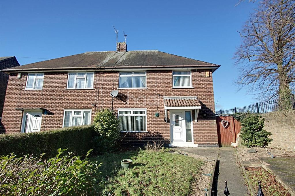 3 Bedrooms Semi Detached House for sale in Acacia Close, Hucknall