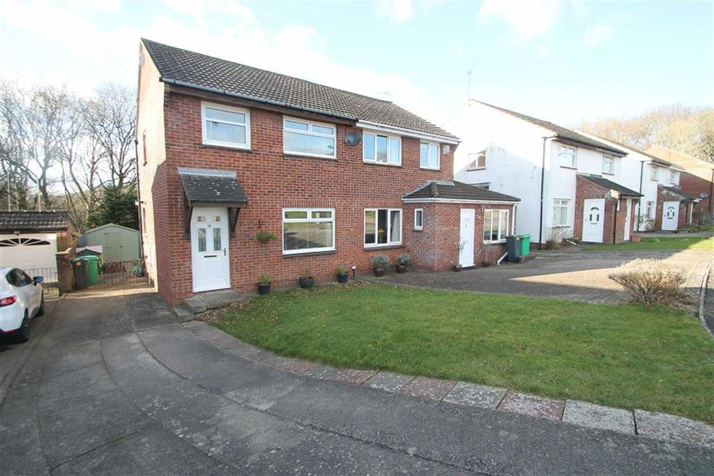 3 Bedrooms Semi Detached House for sale in Gareth Close, Thornhill, Cardiff