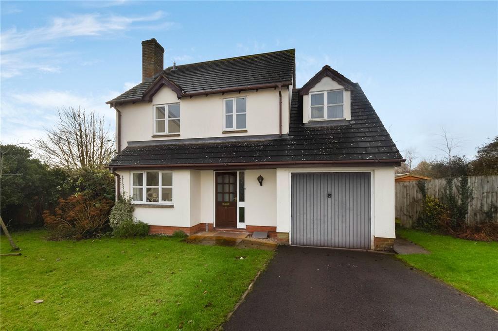 4 Bedrooms Detached House for sale in Millstream Gardens, Halberton, Tiverton, Devon, EX16