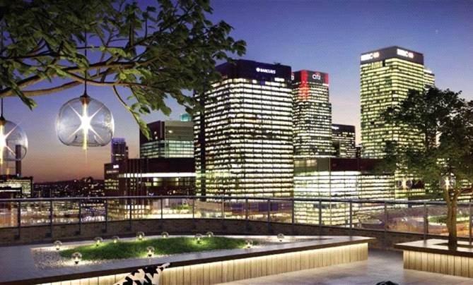 3 Bedrooms Penthouse Flat for sale in Manhattan Plaza, Blackwall,, London