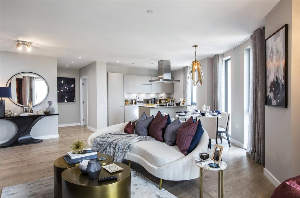 3 Bedrooms Flat for sale in Manhattan Plaza, Blackwall, London