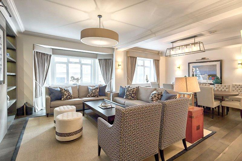 4 Bedrooms Flat for sale in Kingston House South, Ennismore Gardens, London, SW7