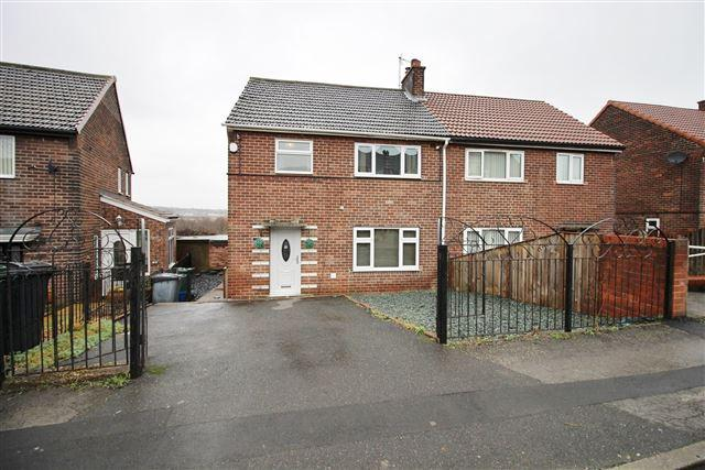 3 Bedrooms Semi Detached House for sale in Treetown Crescent, Treeton, Rotherham, S60 5QE
